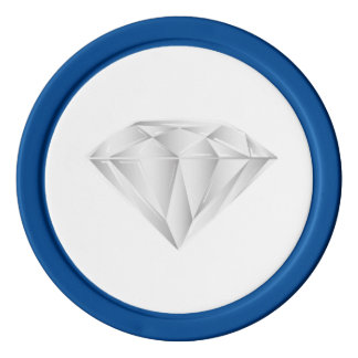 White Diamond for my sweetheart Poker Chip Set