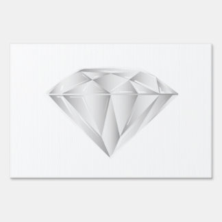White Diamond for my sweetheart Sign