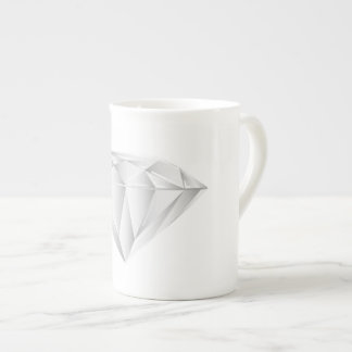 White Diamond for my sweetheart Tea Cup