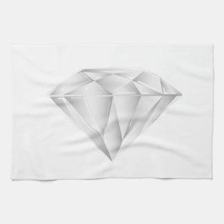 White Diamond for my sweetheart Towel