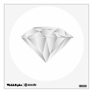 White Diamond for my sweetheart Wall Sticker