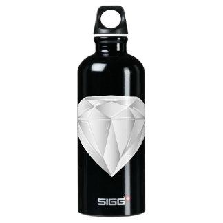 White Diamond for my sweetheart Water Bottle