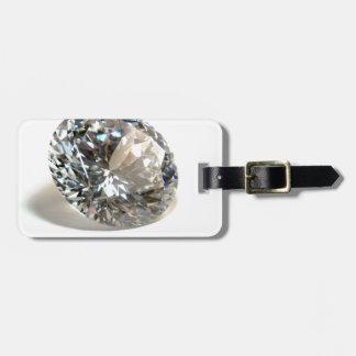 White Diamond. Luggage Tag