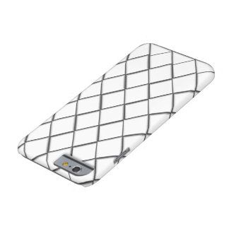 White diamond print barely there iPhone 6 case