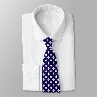 white diamond royal blue formal elegant necktie