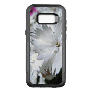 White Dianthus OtterBox Commuter Samsung Galaxy S8+ Case