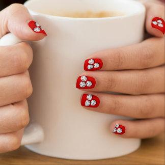 White Dice Bunco Design Minx ® Nail Art