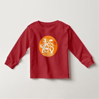 White Dog Papercut Chinese New Year 2018 Toddler T Toddler T-shirt