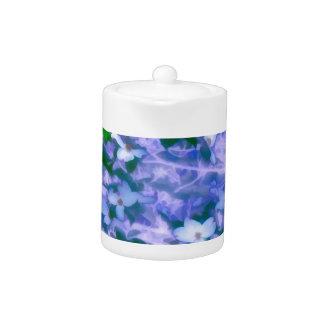 White Dogwood Blossom in Blue
