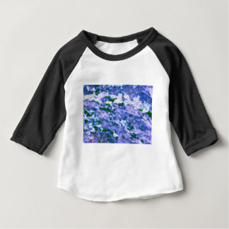 White Dogwood Blossom in Blue Baby T-Shirt