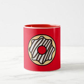 White Donut Mug