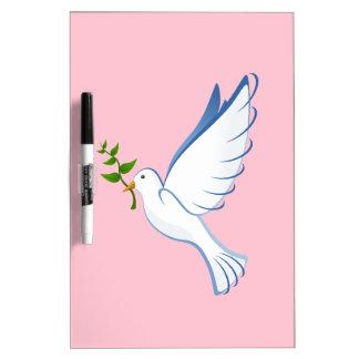 White dove Dry-Erase whiteboard
