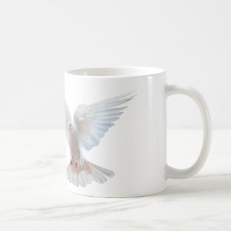 White Dove image Classic White Mug