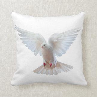 White Dove image Throw Cushion