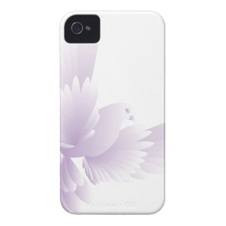 white dove in blue sky 3 Case-Mate iPhone 4 cases