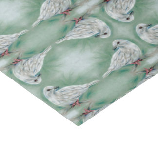 White Dove in the Pine Christmas Tissue Paper