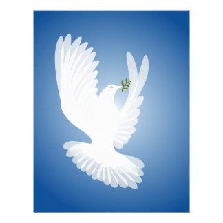 White Dove Letterhead Design