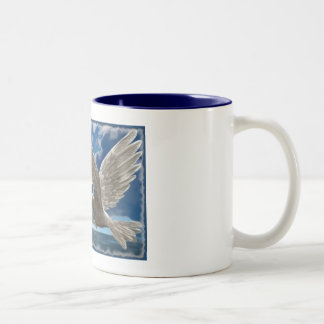 White Dove Of Peace Coffee Mug