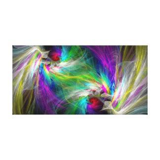 White Doves Guard Your Heart Canvas Print