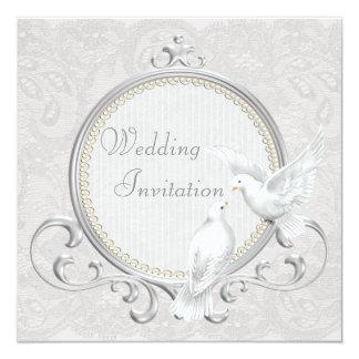 White Dove Wedding Invitations Announcements Zazzle Canada