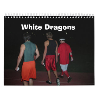 White Dragons - Customized Calendars