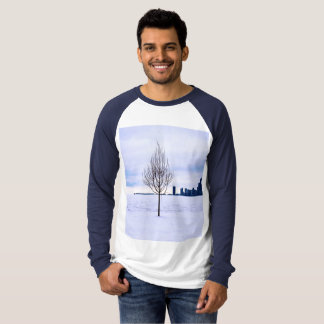 White dream - men's long sleeve t-shirt