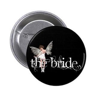 White Dress Fairy Original - The Bride Buttons