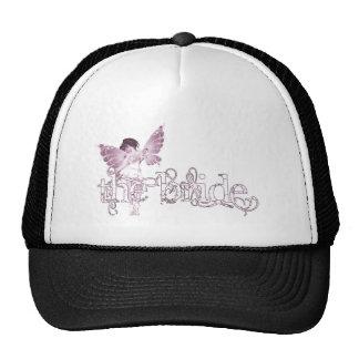 White Dress Fairy Pink - The Bride Trucker Hat