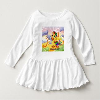 White dress with print 1PapaCaio©