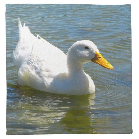 White Duck Cloth Napkins