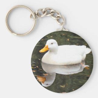 White Duck Keyschains Keychain