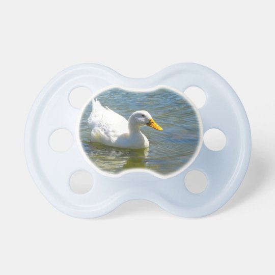 White Duck Pacifier