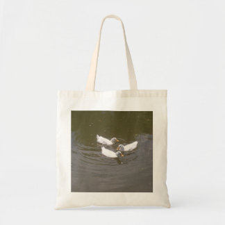 White Ducks Swimming Bag