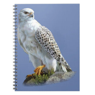 White Eagle Spiral Notebook