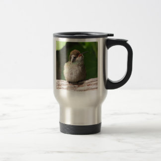 White-eared Hummingbird Travel Mug, right-handled Travel Mug