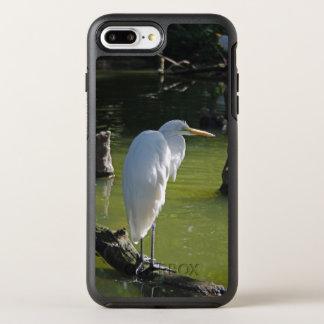 White Egret OtterBox Symmetry iPhone 8 Plus/7 Plus Case