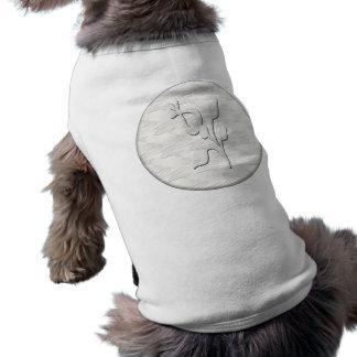White Elegance #1 Doggie Tshirt