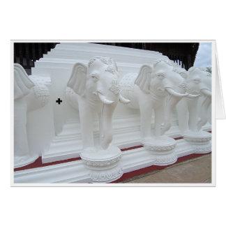 White Elephant Card