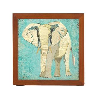 White Elephant Desk Organizer