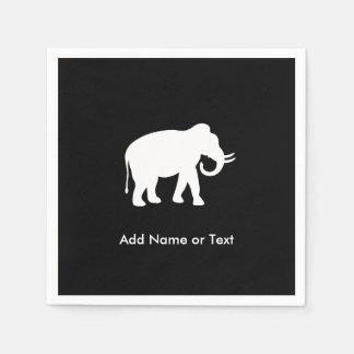 White Elephant Gift Exchange Party Disposable Napkins