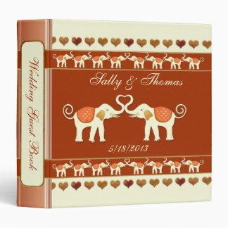 White Elephants Wedding Guestbook or Photo Binder