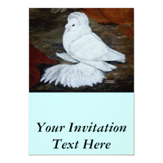 White English Trumpeter Card
