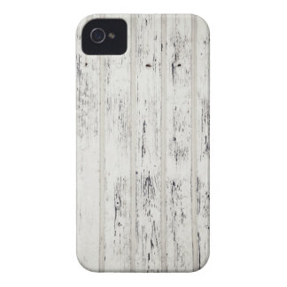White Eroded Wood Pattern Design iPhone 4 Cases
