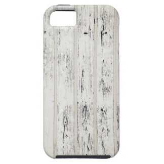 White Eroded Wood Pattern Design iPhone 5 Cases