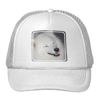 White Eskimo Dog  Baseball Hat
