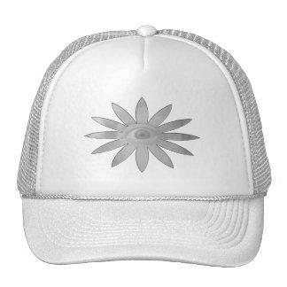 White Eye Flower Trucker Hat