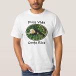 White Face Monkey, Pura Vida, Costa Rica Tee Shirt