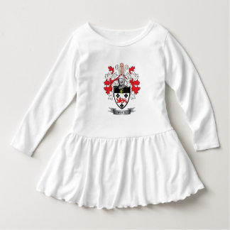 White Family Crest Coat of Arms Dress