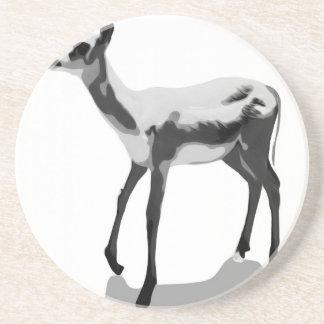 White Fawn Coaster