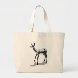 White Fawn Large Tote Bag